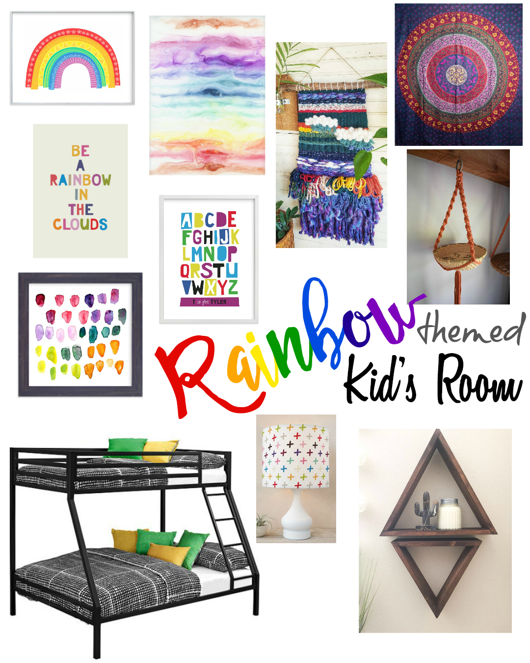 Rainbow Kids Rooms A Designer At Home A Designer 39s Passion For Creating