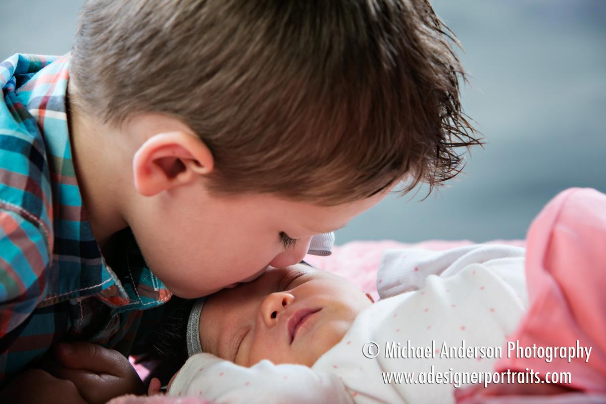 Mounds View Mn Blaine Baby Photographer Newborn Baby Girl