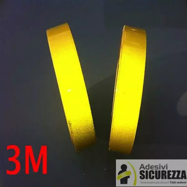 Masking Tape Shop 3m Scotchlite™ 580 Series Yellow Reflective Vinyl Tape