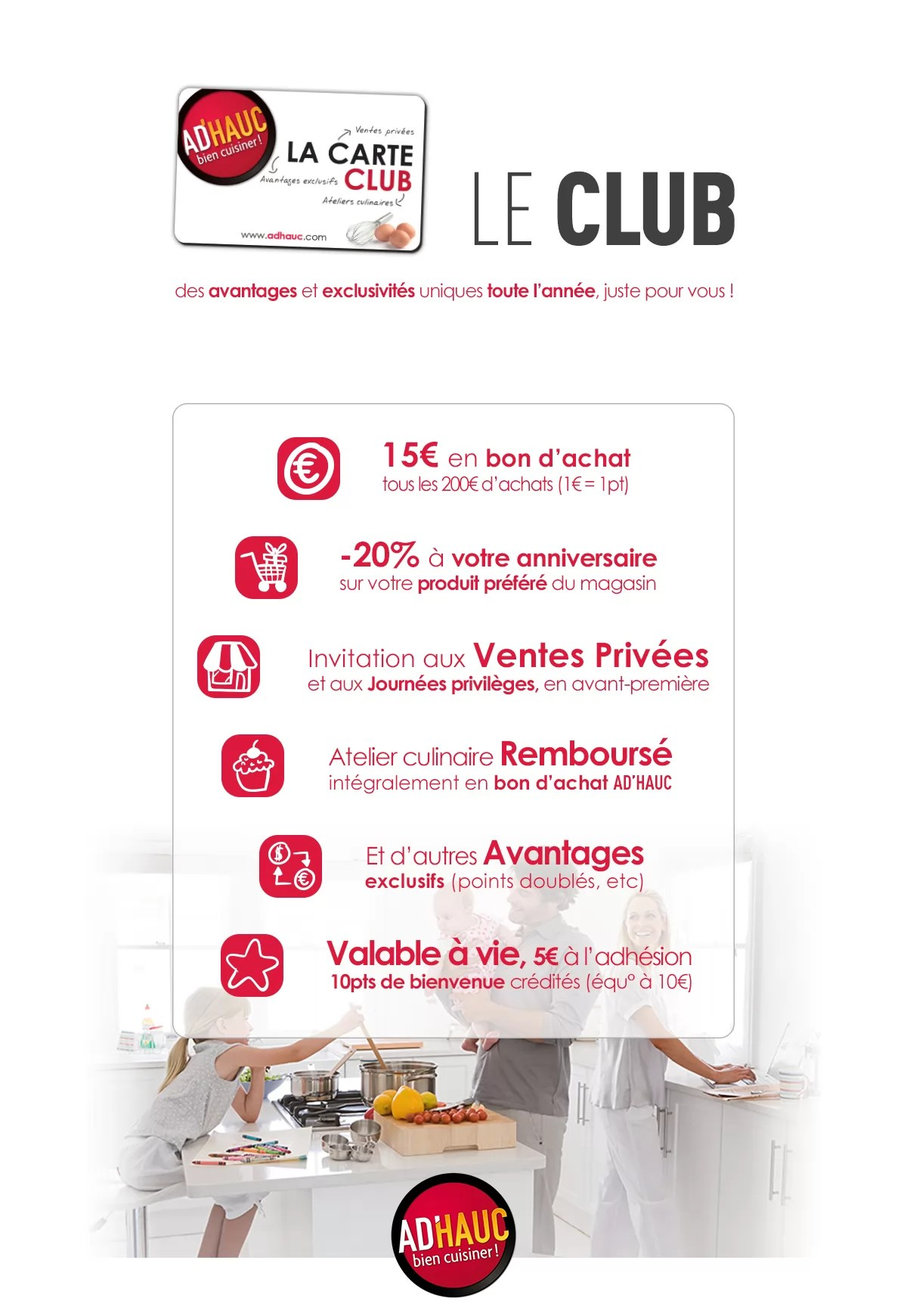 Carte Cadeau Vente Unique Carte Club Ad Hauc