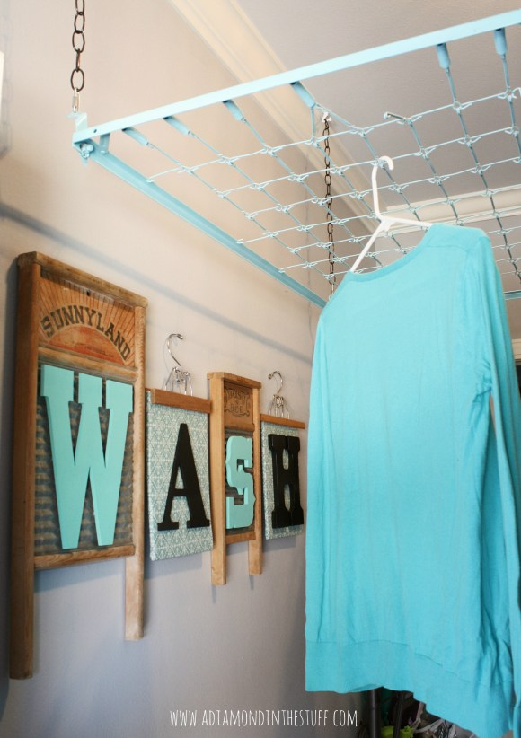 Laundry Room Organizing Ideas | A Diamond in the Stuff