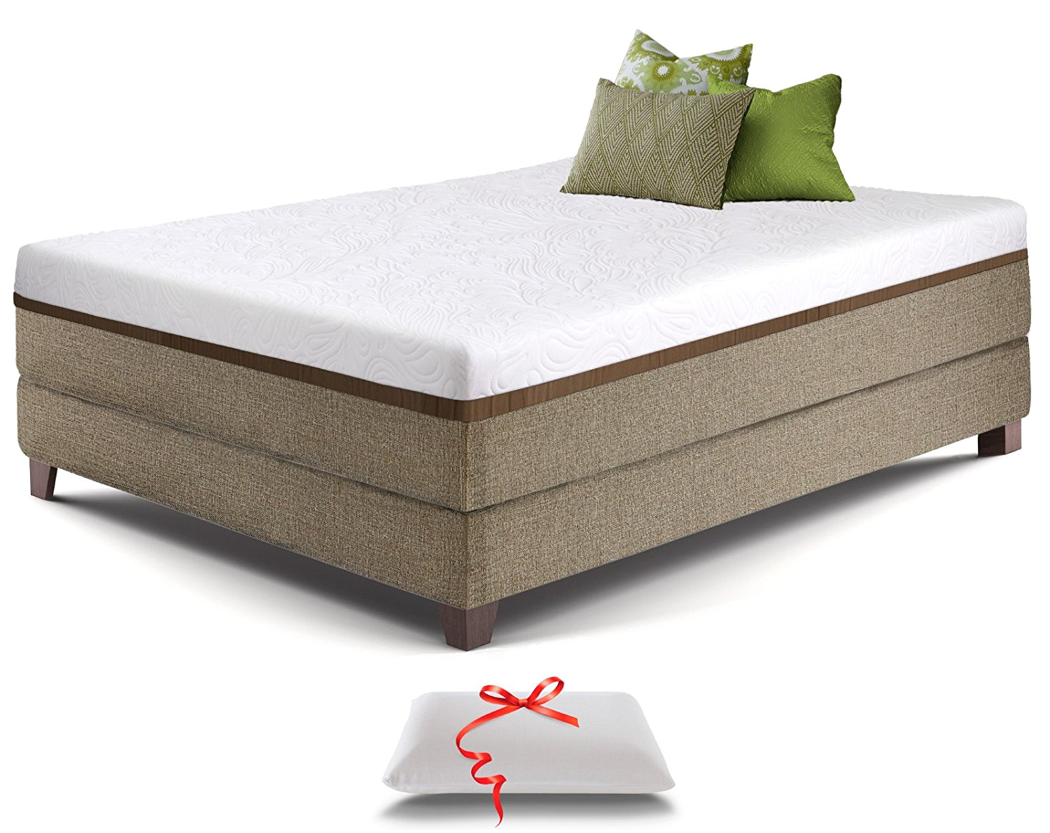 Bamboo Mattress Topper Review Snuggle Home 2 Blended Gel Memory Foam Mattress Topper Reviews