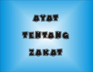 Ayat Al-Quran Tentang Zakat