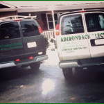 Adirondack Electric Service Vans Rear View