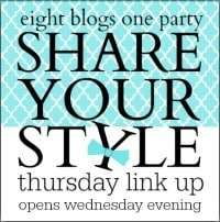 Share Your Style party button