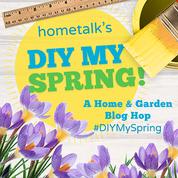 Hometalk Spring Blog Hop Button