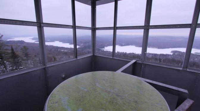 Bald Mountain Fire Tower (Rondaxe Mountain) - Adirondack Journeys