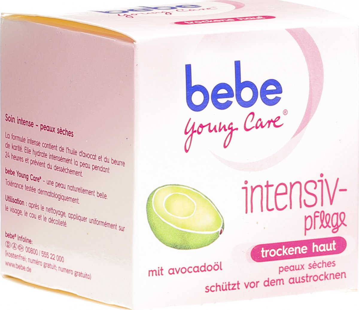 Bebe Produkte Bebe Young Care Intensive Creme Topf 50ml In Der Adler Apotheke
