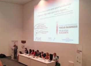 Mesa sobre Turismo como oportunidad de negocio DPE Alicante 2014