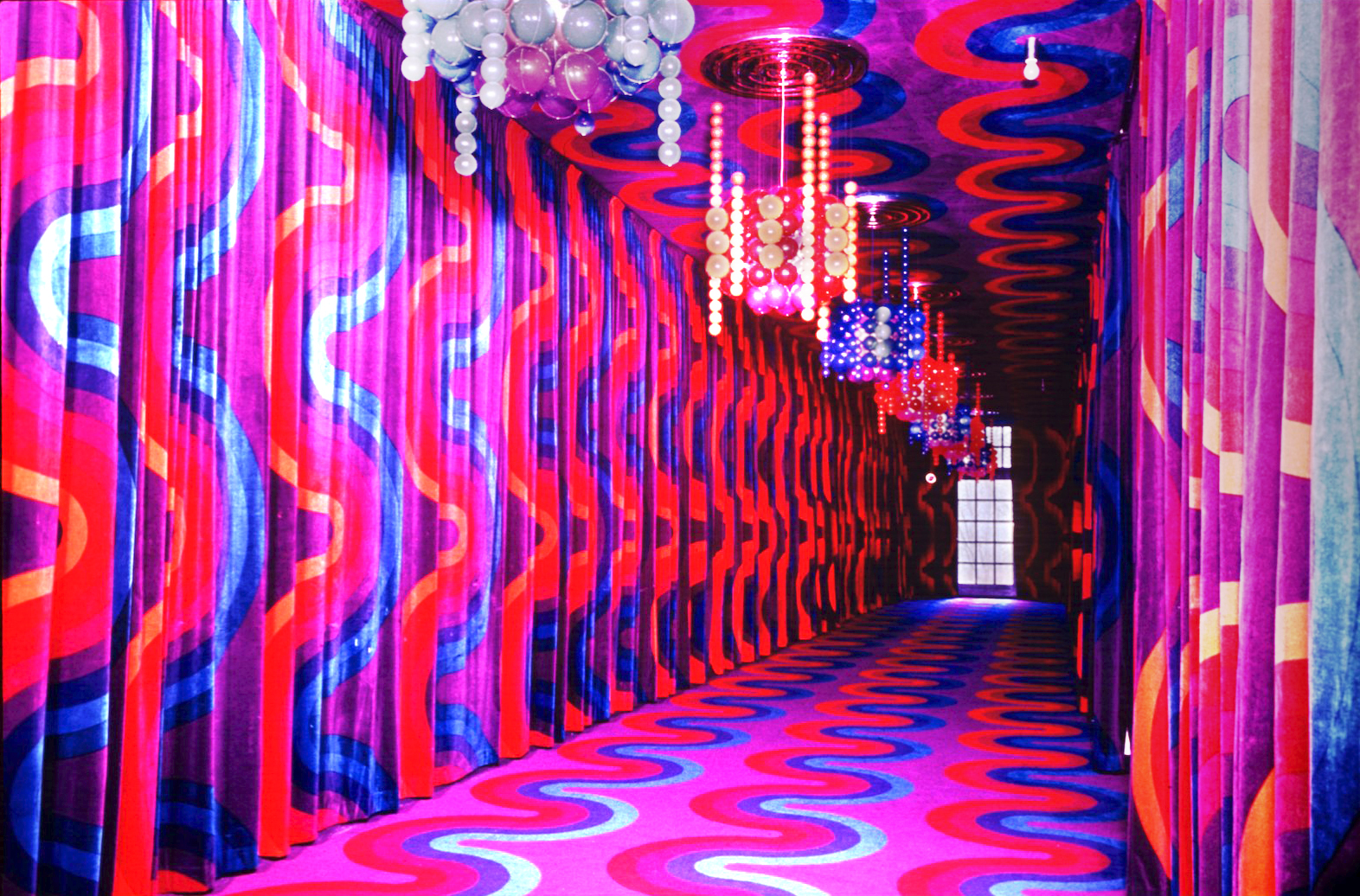 A Literary Reflection Of Verner Panton Architectural Digest Middle East