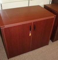 Locking 2 door storage cabinet