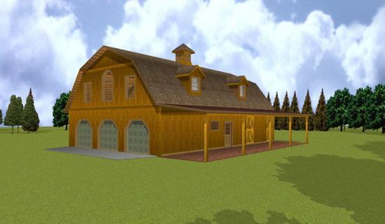 barn style garage gambrel roof plans gambrel pole barn house gambrel barn home interior designs house design ideas
