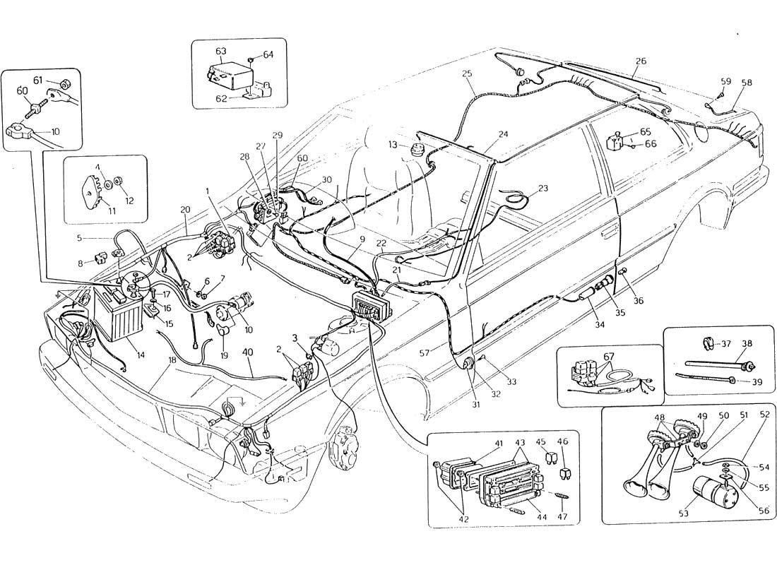 wiring diagram on maserati biturbo wiring maserati biturbo wiring
