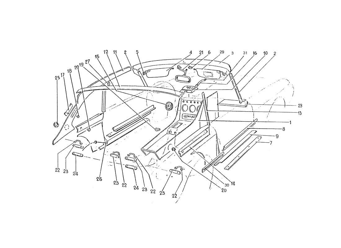 ferrari 330 wiring diagram