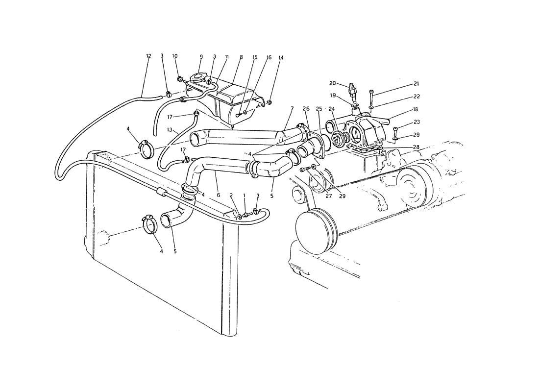 starter wiring diagram of maserati biturbo