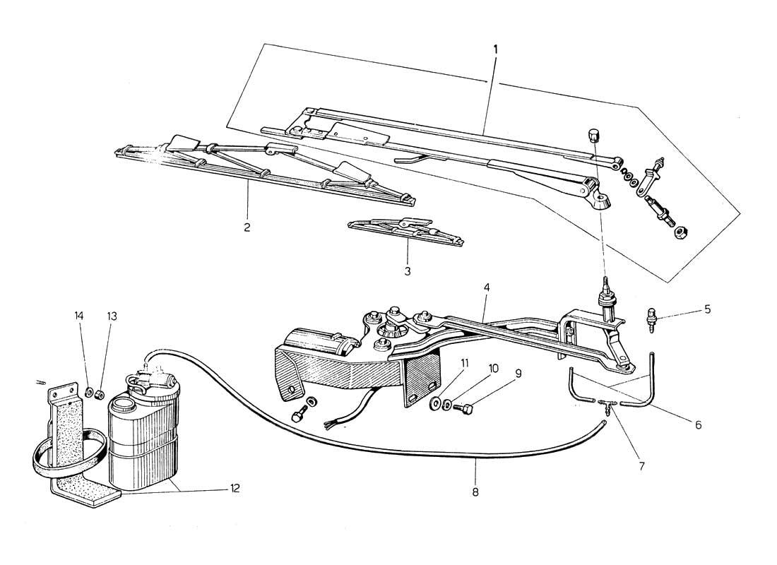 lamborghini miura workshop wiring diagram