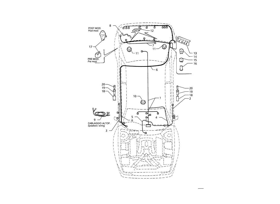 maserati ghibli wiring diagram