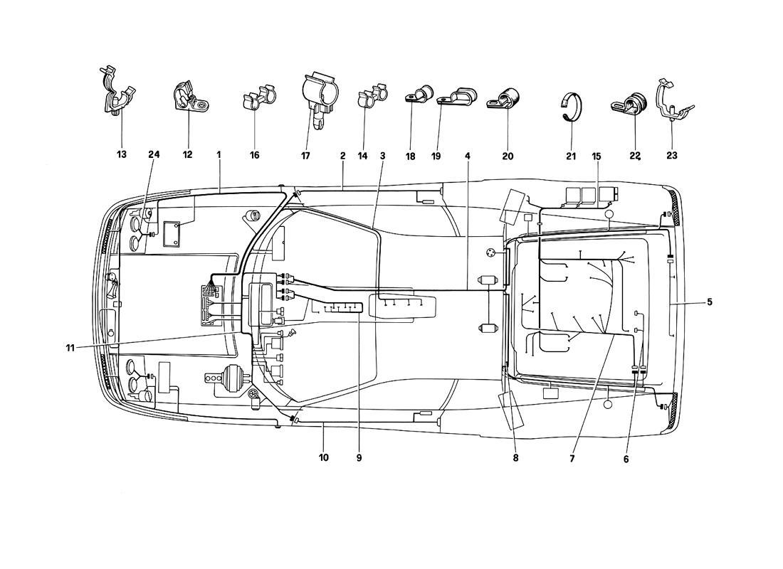 vw type 3 wiring harness diagram