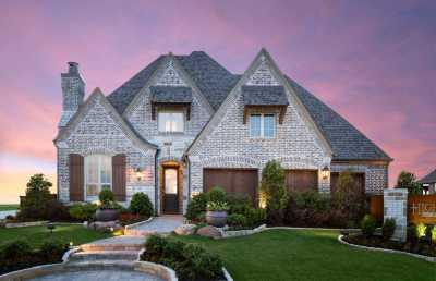 Model Home in Dallas / Fort Worth Texas, The Tribute: Westbury community