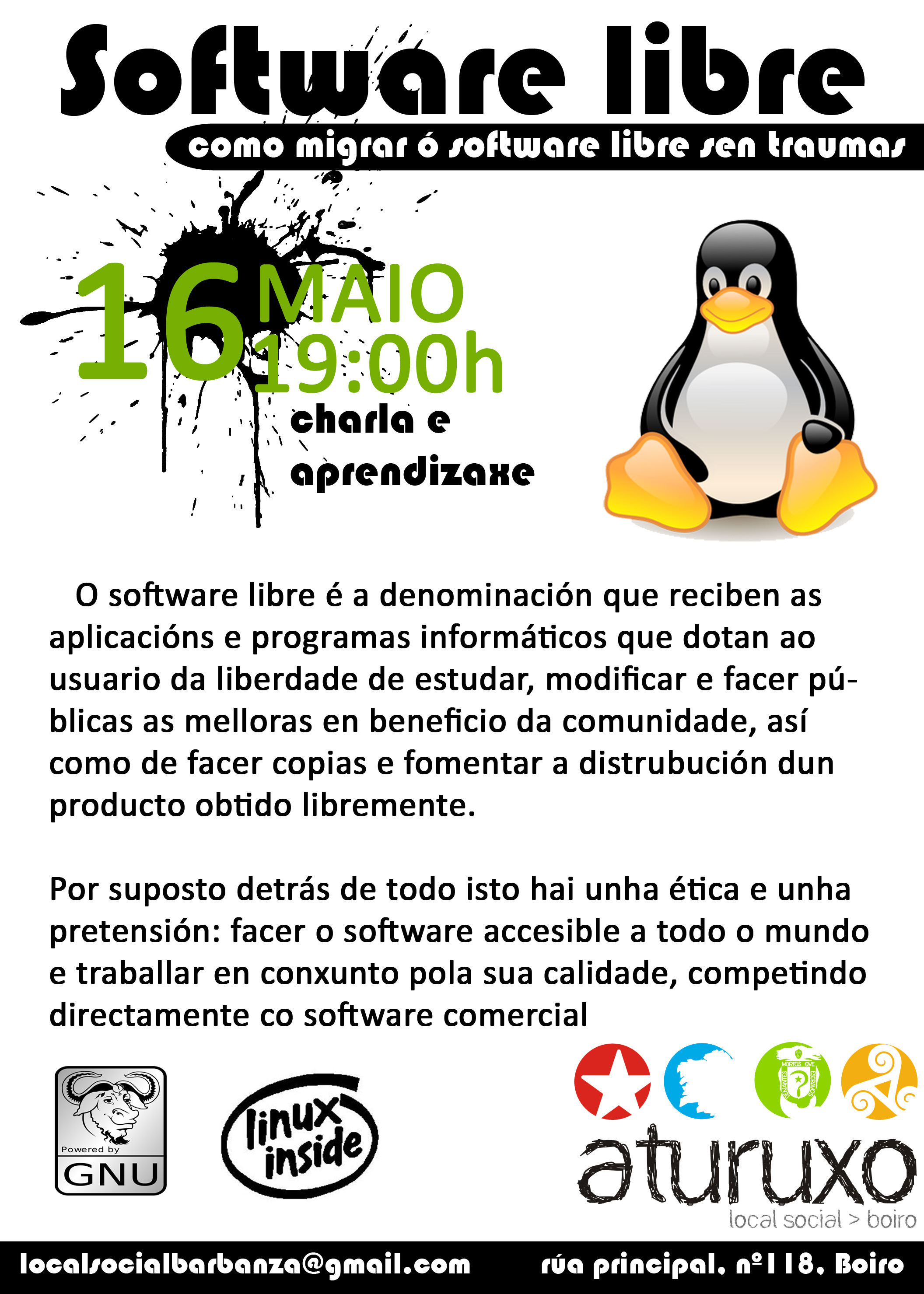 Software Libre Edicion De Video Administraciondesistemas Charla Sobre Software Libre