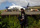 EV: LAN en viaje Isla de Pascua – Santiago, Premium Business del B787