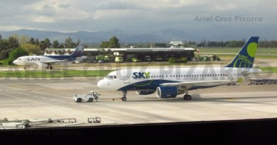 lan - sky airline - airbus a319 - cccou - ccafz - scl