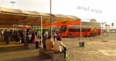 pullman bus - 2141 - chrj60 - paradiso 1800 dd scania - la serena - terminal