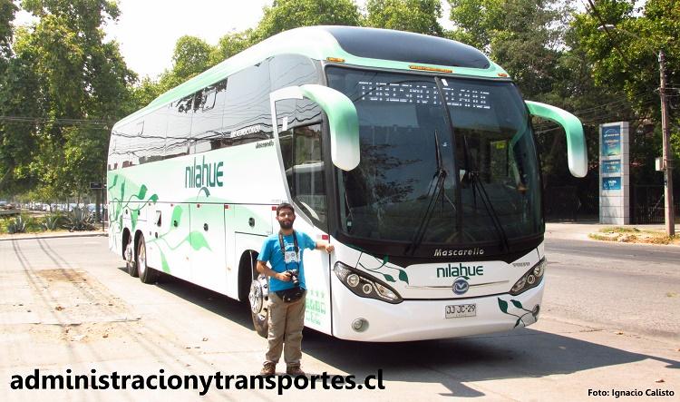 Ariel Cruz Pizarro Buses Nilahue, Mascarello Roma 370 Volvo