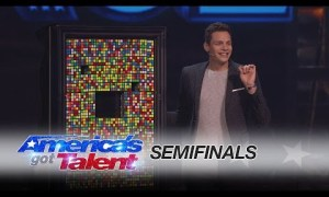 Magician Baffles Audience with Rubik's Cube Trick – America's Got Talent 2016