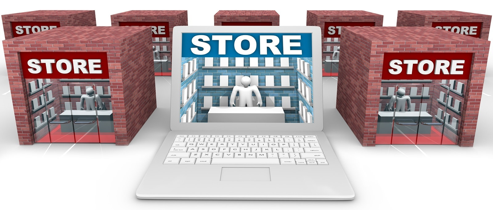 In Shop Online Store Retail Real Estate Integrating Online In Store Shopping