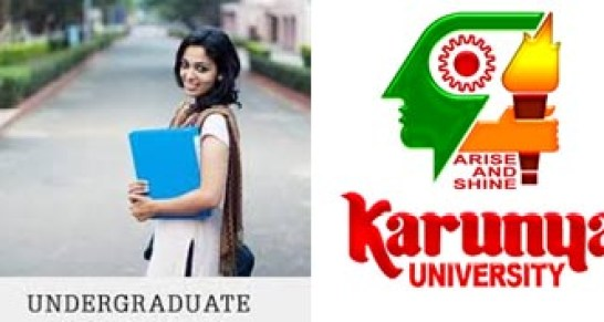 Karunya University UG Admission