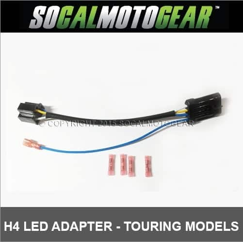 H4 LED HEADLAMP WIRING HARNESS - AdMore Lighting Inc