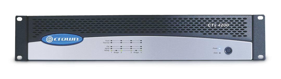 CTs 4200 Crown Audio - Professional Power Amplifiers