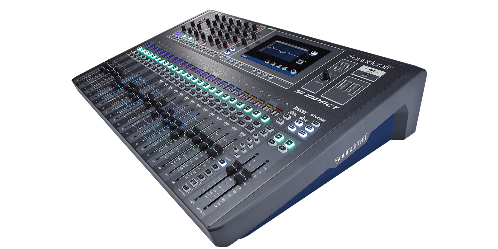 Mesa De Sonido Digital Si Impact Soundcraft Professional Audio Mixers