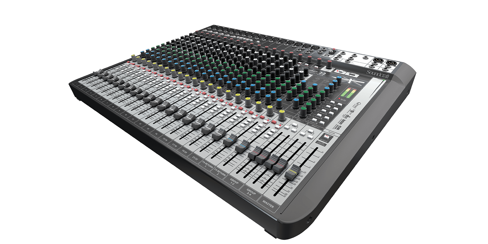 Mesa De Dj Online Signature 22 Mtk Soundcraft Professional Audio Mixers