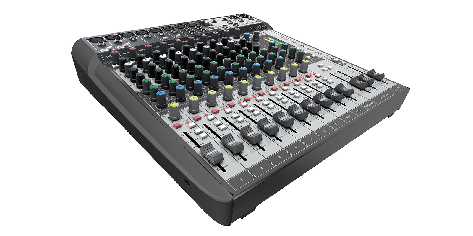 Wipschakelaar 220v Signature 12 Mtk Soundcraft Professional Audio Mixers