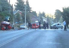 Bariloche - Accidente Bustillo