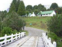 Resultado de imagen para Weretilneck inaugura el puente del Lago Hess