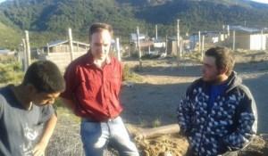 Visitando barrios de Bariloche