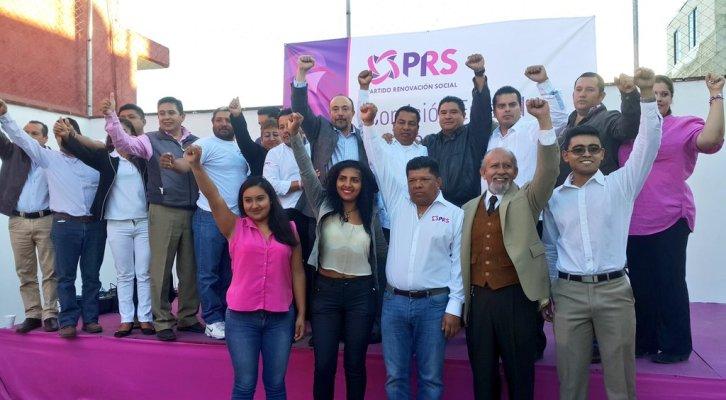 Avanza PRS en registro de precandidaturas a diputaciones (22:00 h)