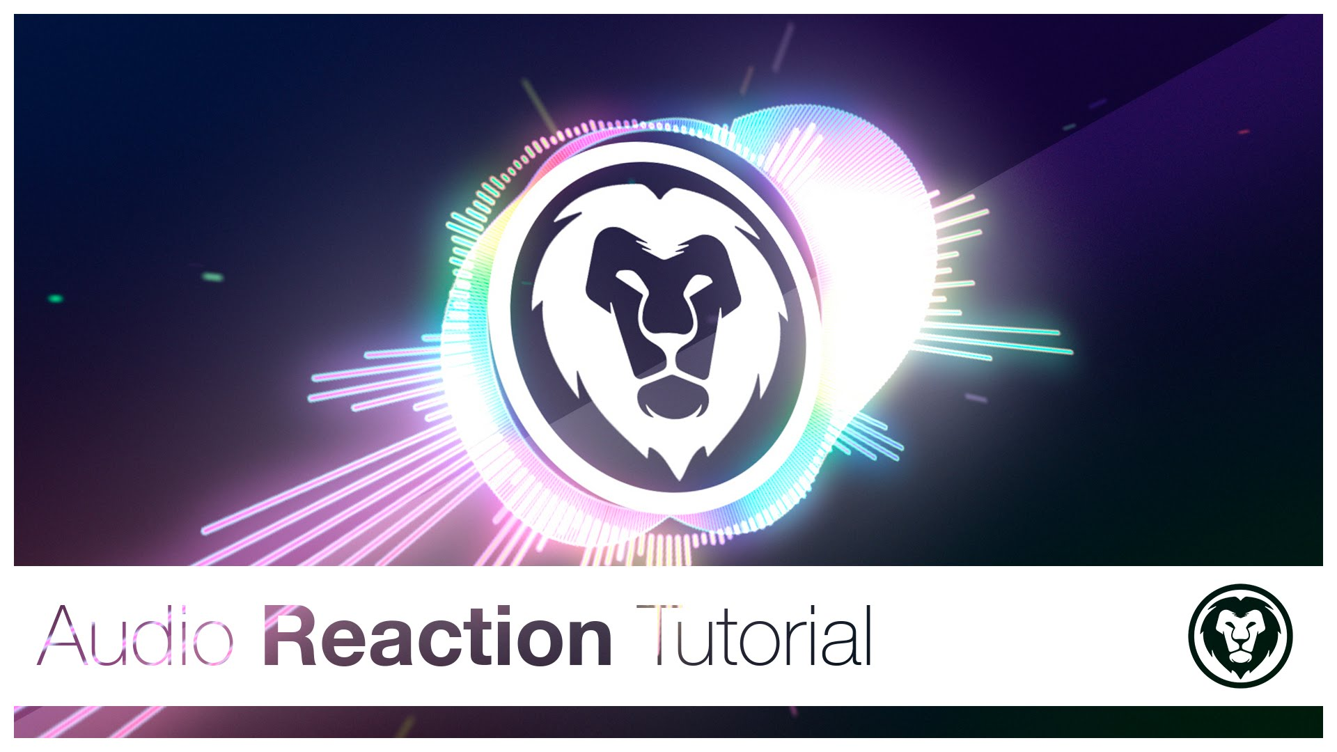 Cc Tutorial Audio Spectrum Reaction After Effects Cc Tutorial Adobe Lessons