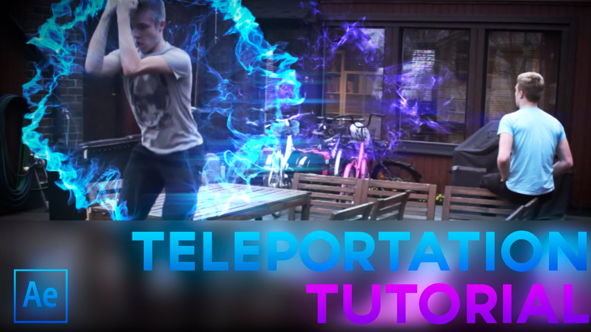 Cc Tutorial Advanced Teleportation After Effects Cc Tutorial Adobe Lessons