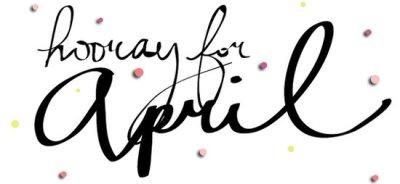 Bye March; Hello April | adohrspeaks