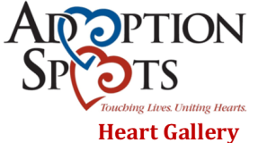 Adoption Spots Heart Gallery Logo