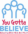 You gotta believe logo