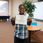Moe received an Honors certificate in Science.