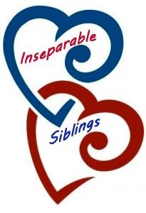 Inseparable Siblings Hearts