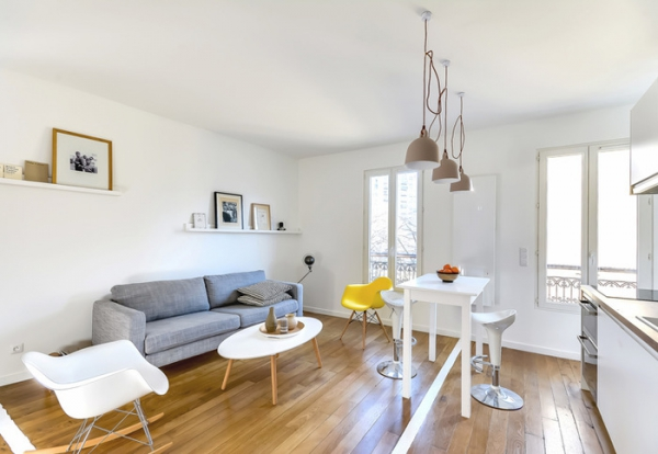 Aménagement Intérieur Petit Espace Comfortable Small Flat In The Big City Of Paris – Adorable