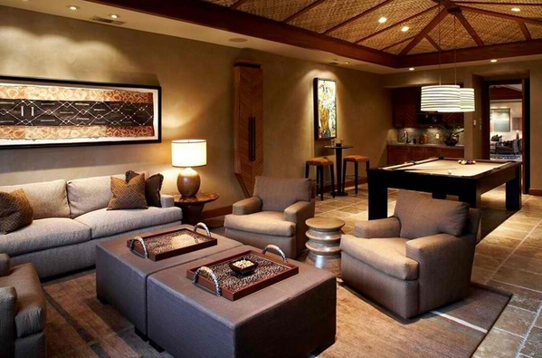 Wohnzimmer Einrichtung African Themed Living Rooms: Beauty And Style – Adorable Home