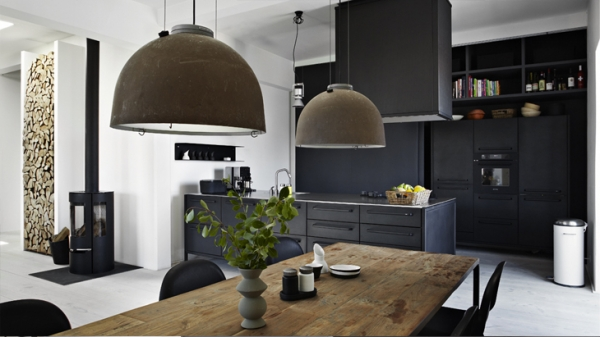 Keuken Kast Bar Alluring And Airy Dark Interior – Adorable Home